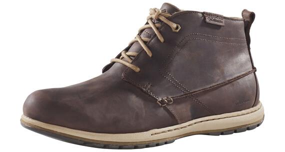 Columbia Davenport Chukka Schoenen Heren WP Leather bruin